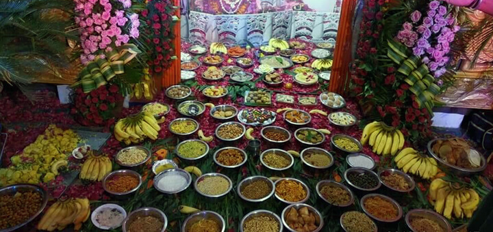 What does Chhappan Bhoga mean? And what dishes does Chhappan Bhoga contain?