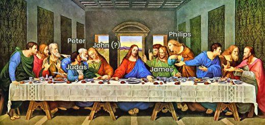 """""""द लास्ट सपर"""" पेंटिंग के बारे में कुछ रोचक तथ्य (Some interesting facts about """"The Last Supper"""" painting)"""